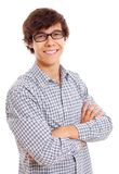 Confident young man Royalty Free Stock Photo