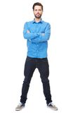 Confident young man Royalty Free Stock Images