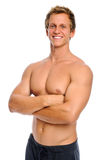 Confident young man in good shape Stock Images