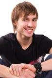 Confident young man portrait Stock Images