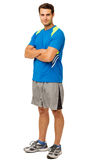 Confident Young Man In Sports Clothing Stock Photos