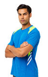 Confident Young Man In Sports Clothing Stock Photo