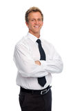 Confident young man in studio Stock Photography