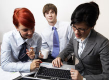 Confident young manager Stock Image
