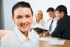 Confident young professional royalty free stock images