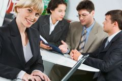 Confident young professional Stock Image