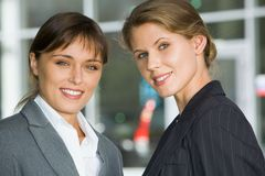 Confident young professionals Stock Images