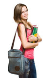 Confident young student. Royalty Free Stock Photo