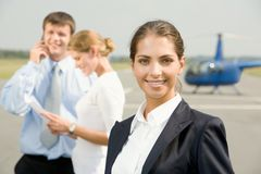 Confident  young  woman Royalty Free Stock Photos