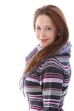 Confident young woman smiling Stock Photography