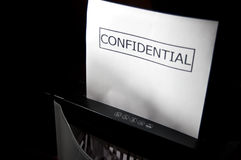 Confidential Royalty Free Stock Photos