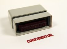 Confidential Stock Photography