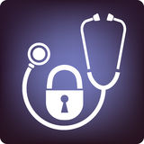 Confidential. Patient confidentiality respected in anywhere vector illustration