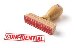 confidential Fotos de Stock Royalty Free