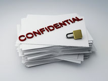 Confidential archive Stock Photos