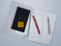 Confidential archive Royalty Free Stock Images