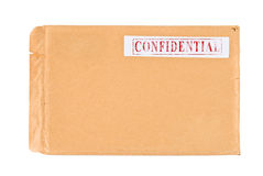 Confidential Contents Stock Photography