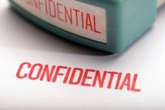 Confidential 2 Stock Photos