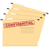 Confidential documents Stock Image