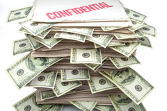 Confidential documents Royalty Free Stock Photo