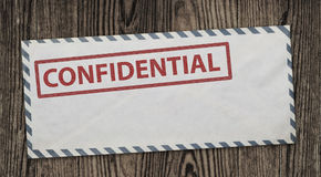 Confidential envelope. Royalty Free Stock Images