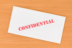 Confidential Envelope Stock Photography
