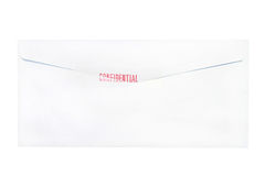 Confidential envelope letter Royalty Free Stock Photos