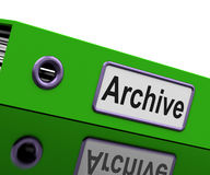 Confidential File Shows Private Correspondence Or Documents Stock Photography