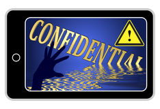 Confidential Information at Stake Stock Photography