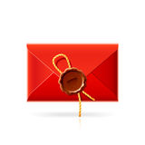 Confidential mail icon. Vector illustration of a Confidential mail icon Stock Photos