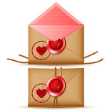 Confidential message icon Royalty Free Stock Images