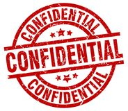 Confidential stamp. Confidential grunge stamp on white background Stock Photo