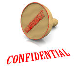 Confidential Stamp Royalty Free Stock Photos