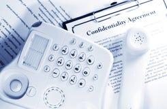 Confidentiality royalty free stock photo