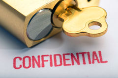 Confidentiality 3 Stock Images