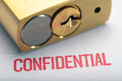 Confidentiality 4 Royalty Free Stock Images