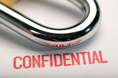 Confidentiality 2 Royalty Free Stock Images