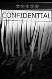 Confidentiel Image libre de droits