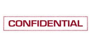 confidentiel photos stock