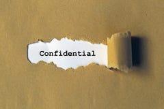 confidenziale illustrazione di stock