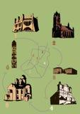 Configuración ilustración del vector