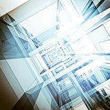Configuración abstracta ilustración del vector