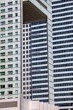 Configuración abstracta de los rascacielos Imagen de archivo