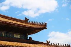 Configuración antigua china Fotos de archivo