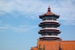 Configuración antigua: pagoda Fotografía de archivo libre de regalías