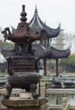 Configuración china antigua Fotografía de archivo