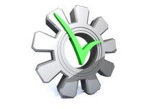 Configuración correcta Imágenes de archivo libres de regalías