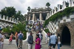 Configuración de Antonio Gaudi Imagen de archivo libre de regalías