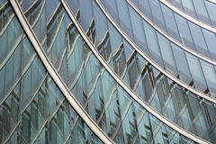 Configuración de cristal moderna Foto de archivo