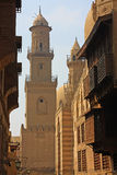 Configuración de El Cairo viejo Imagenes de archivo